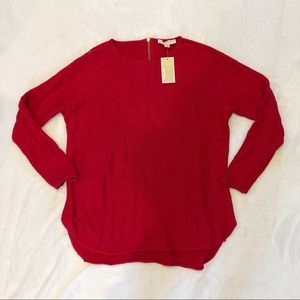 Michael Kors | NWT Red Knit Sweater Sz L